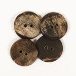 537 Tölur úr horni (Bofflehorn) 20 mm