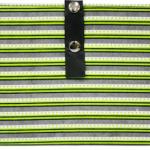 Knit pro magnet grænn röndótt